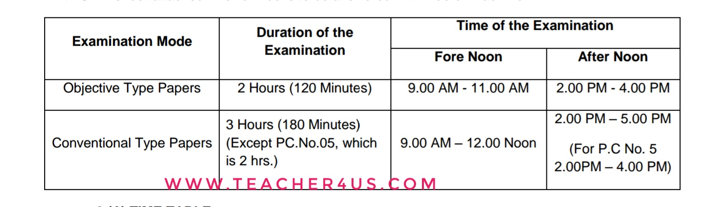 APPSC Departmental Test May 2017 Notification Online Application