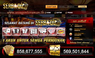 SERBAQQ.NET BANDAR POKER ONLINE | DOMINOQQ | BANDAR Q | BANDAR SAKONG ONLINE UANG ASLI TERPERCAYA INDONESIA