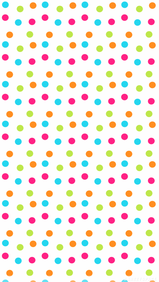 Download Polka Dot iphone Backgrounds