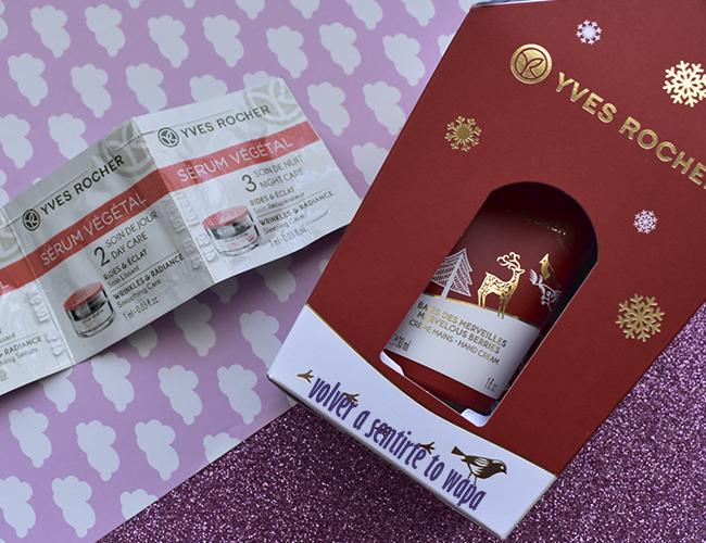 Set de Navidad de arándanos de Yves Rocher