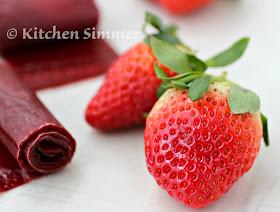 Kitchen Simmer Strawberry Fruit Roll Ups