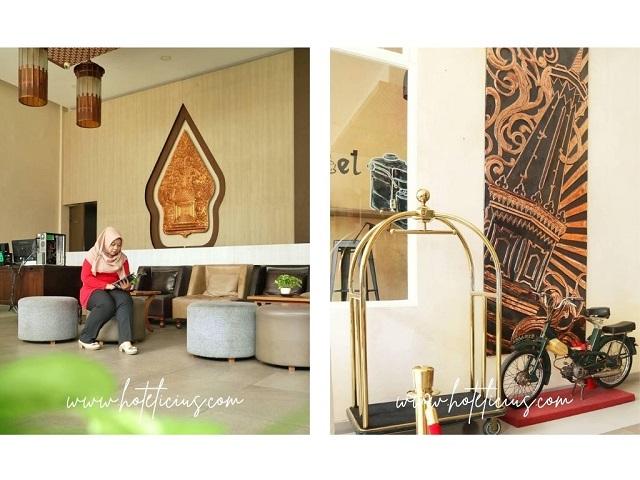 Lobby dan Dekorasi H Boutique Hotel