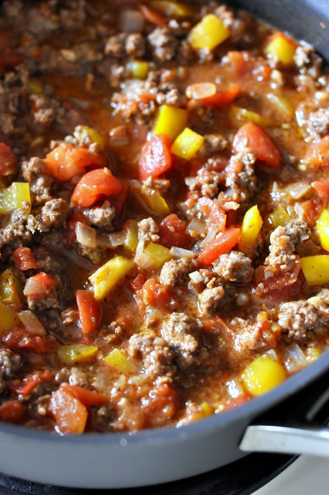 Chunky Beef and Tomato Sauce | Taste As You Go