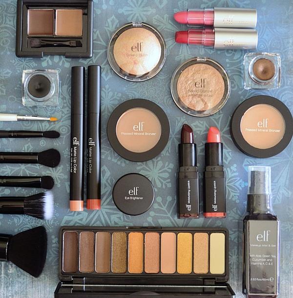 elf cosmeticos compras maquillaje descuento