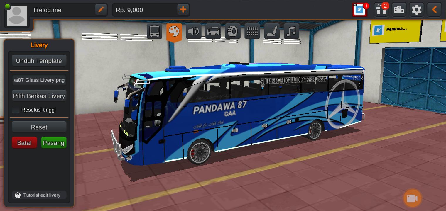 Senangnya mencoba Livery Bus Pandawa 87, Mau Tahu Bagaimana Keseruannya?