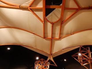 LEONARDO INTERACTIVE MUSEUMの飛行模型