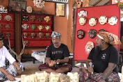 Rumah Topeng Sanur Berawal Dari Kunjungan Tamu Jepang Temui Made Kara
