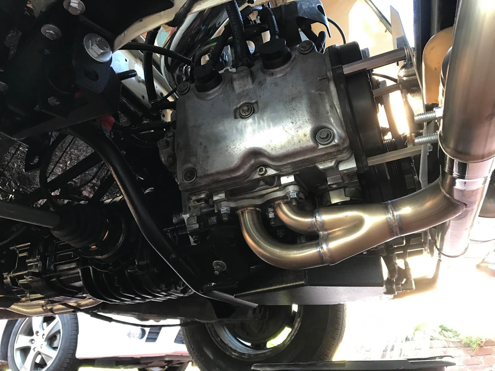 Vanagon Geek: Subaru Conversion Complete    mostly