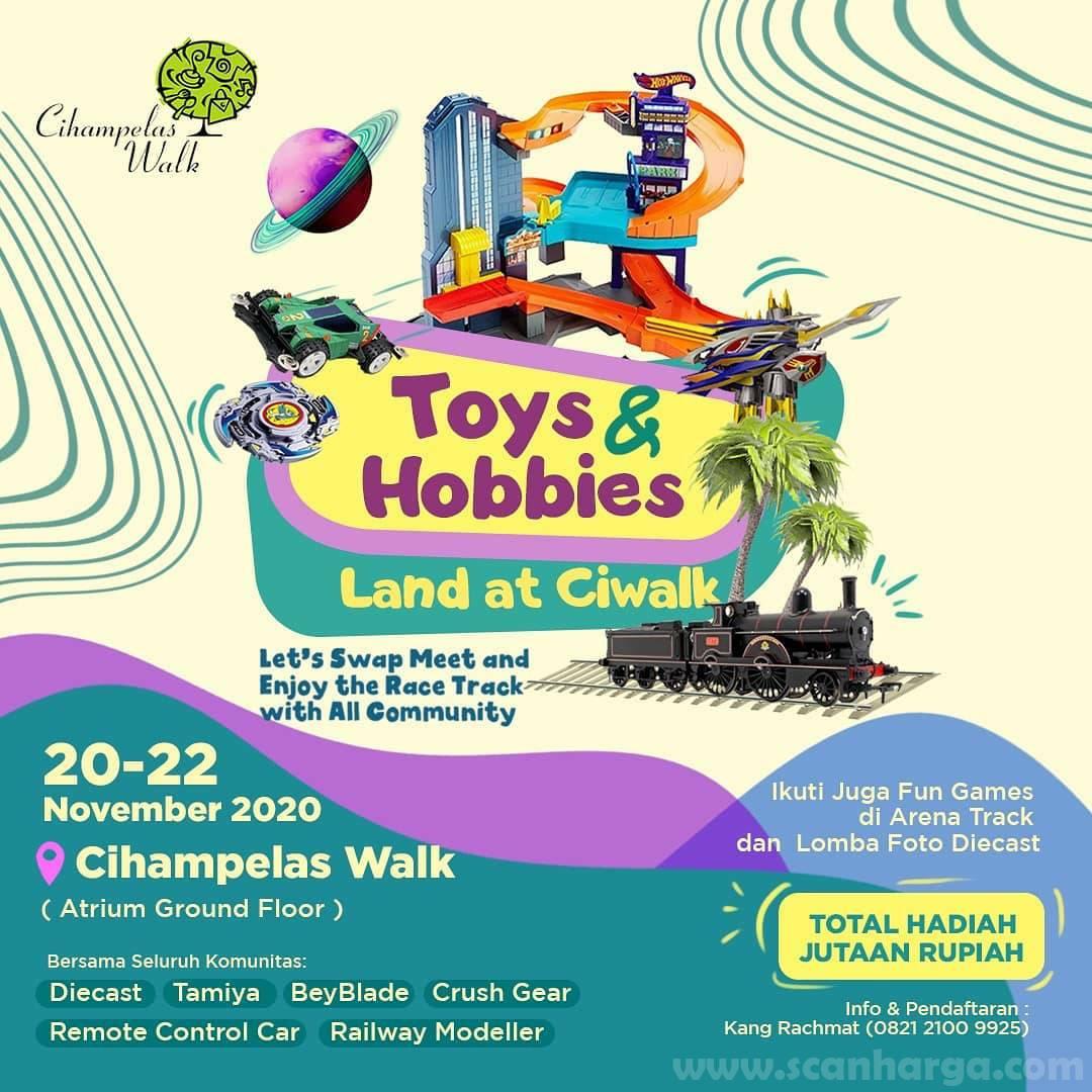 Cihampelas Walk Present: Toys & Hobbies Land [Fun Game + Lomba Foto Diecast] Hadiah Jutaan Rupiah