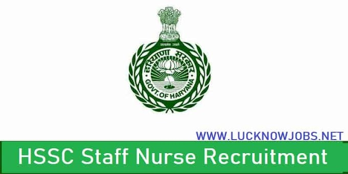 HSSC Staff Nurse Recruitment 2021 | Apply Now Over 4352 Vacancies