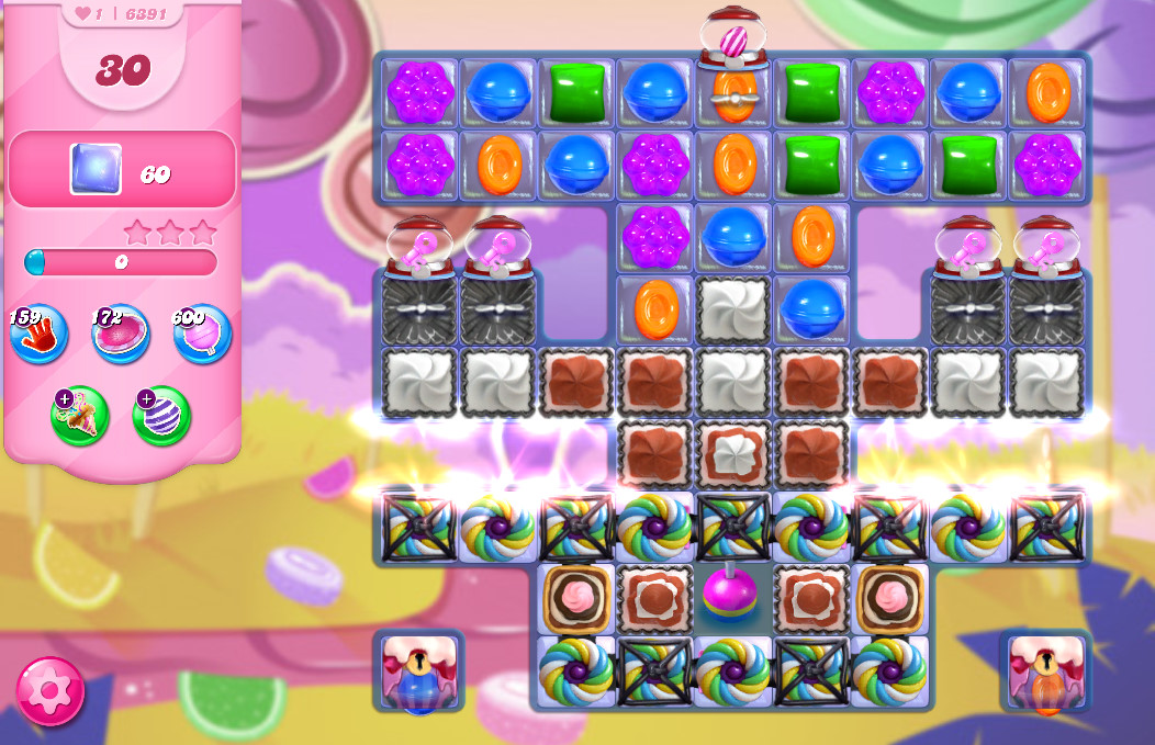 Candy Crush Saga level 6391
