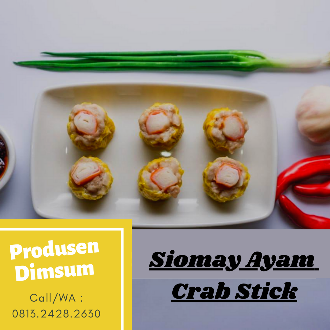 Crab Stick - Produsen Dimsum Masgaz, Produen Diomay