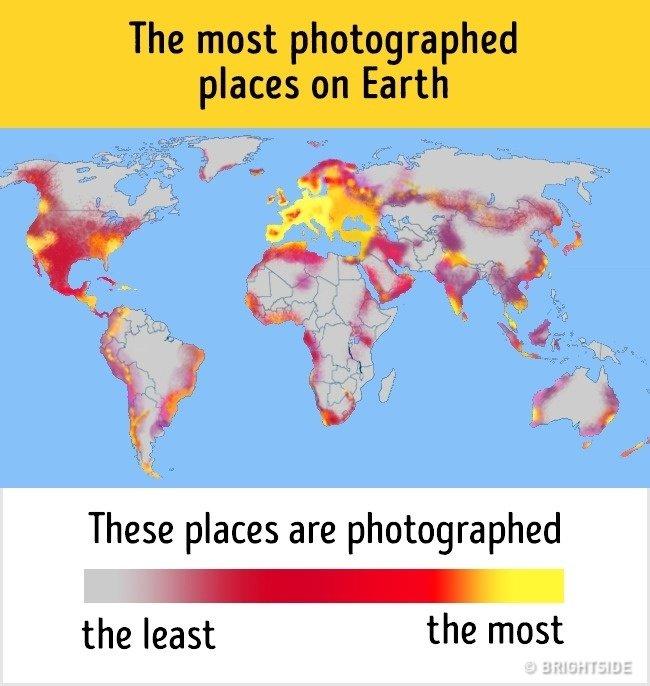 Những địa điểm được chụp ảnh nhiều nhất trên thế giới