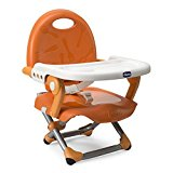 Perfect feeding chair Chicco Pocket Snack Booster Seat Mandarino Open Box £18.99
