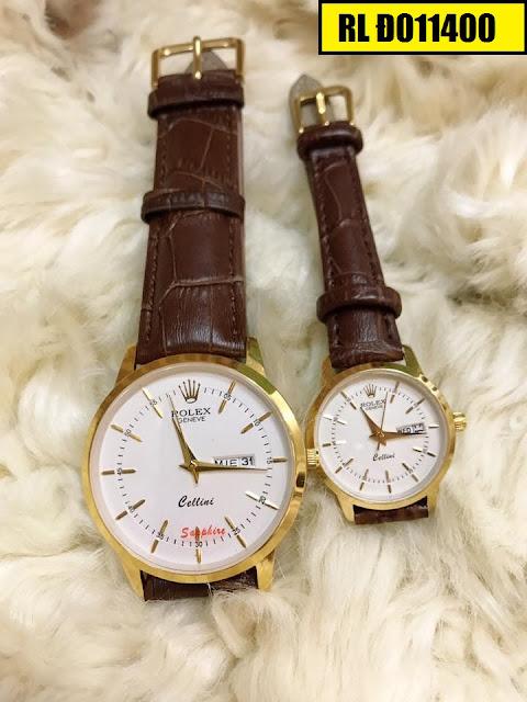 Đồng hồ dây da Rolex D011400