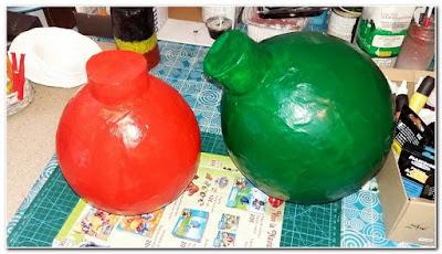 Tutorial-bolas-navidad-papel-mache