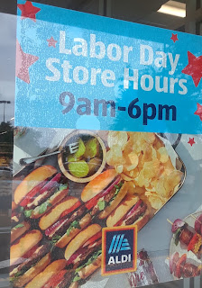 ALDI labor day hours 2020