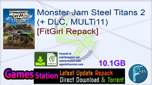 Monster Jam Steel Titans 2 (+ DLC, MULTi11) [FitGirl Repack]
