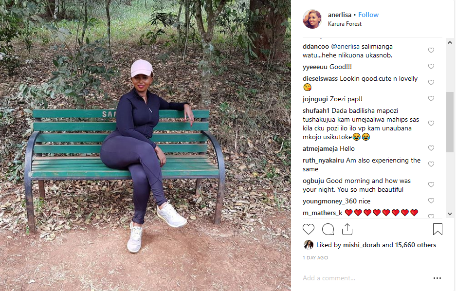 Agitated Fan Attacks Anerlisa Muigai: Stop Showing Us Hips, We Know You Have Them!