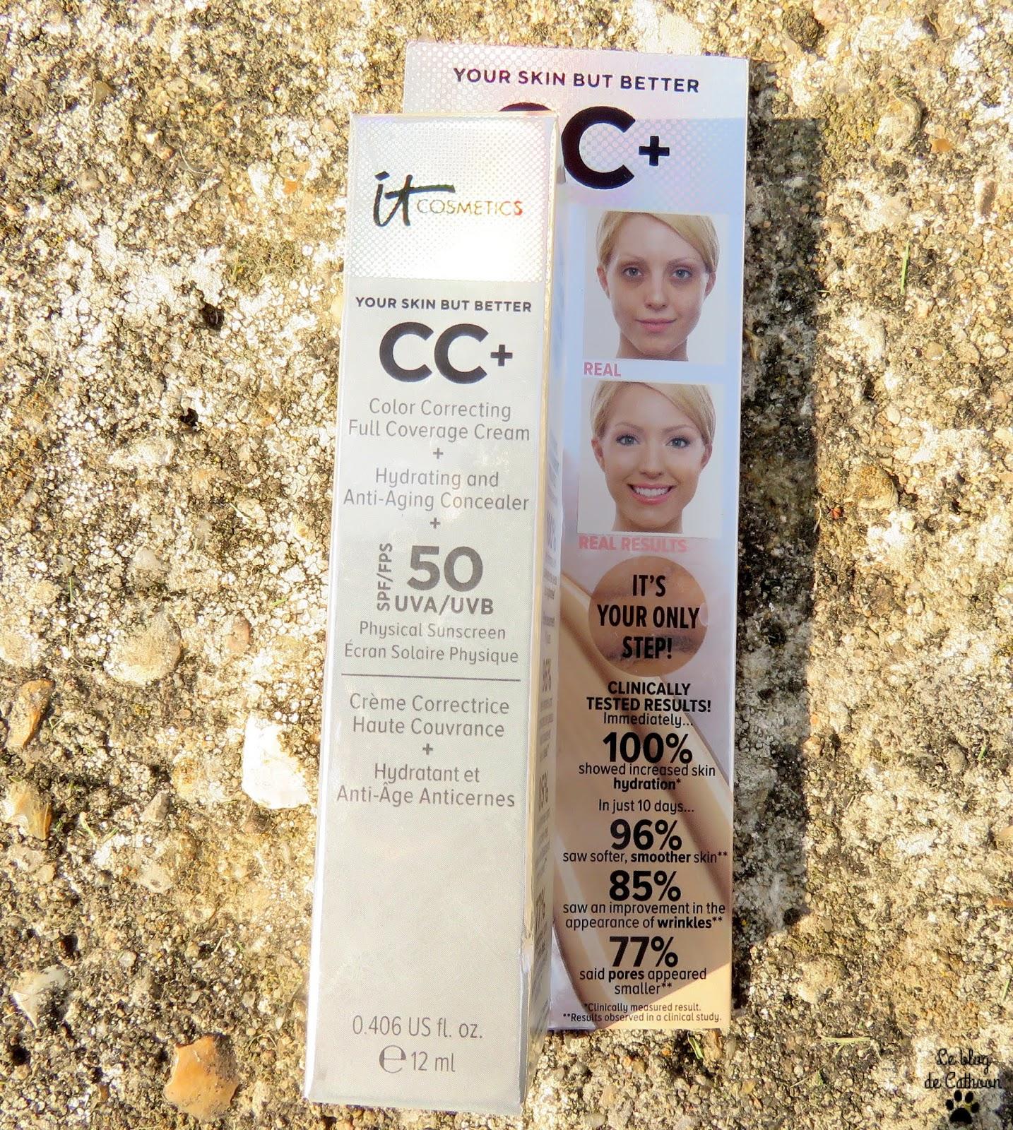 CC+ - Crème Correctrice Haute Couvrance - It Cosmetics
