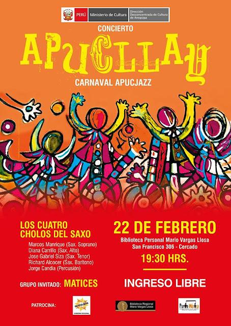 Concierto Apucllay, carnaval