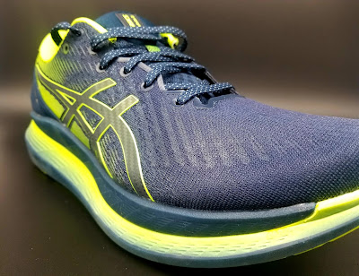 Asics Glideride forefoot
