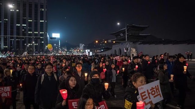 Nearly one million demonstrate against South Korea President Park Geun-hye in Seoul