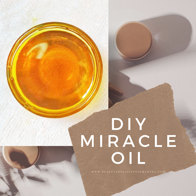 DIY MIRACLE Oil for Face and Body l Beauty And Lifestyle Mantra