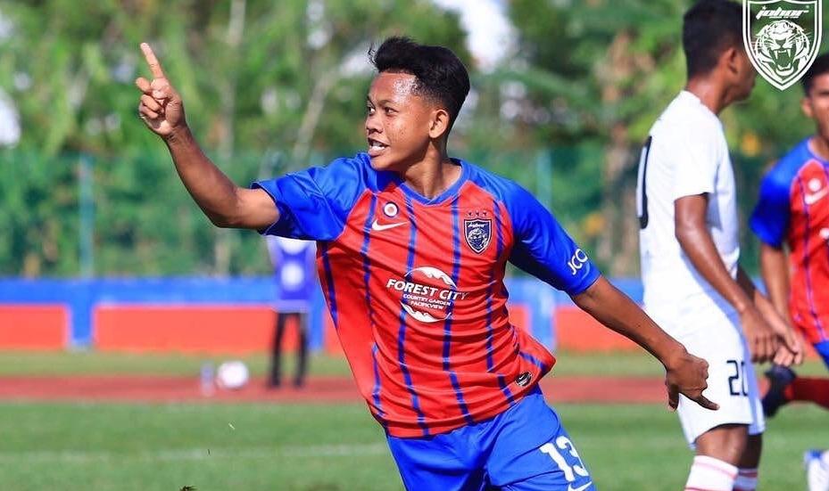 Biodata Arif Aiman Hanapi Pemain Kelab JDT FC