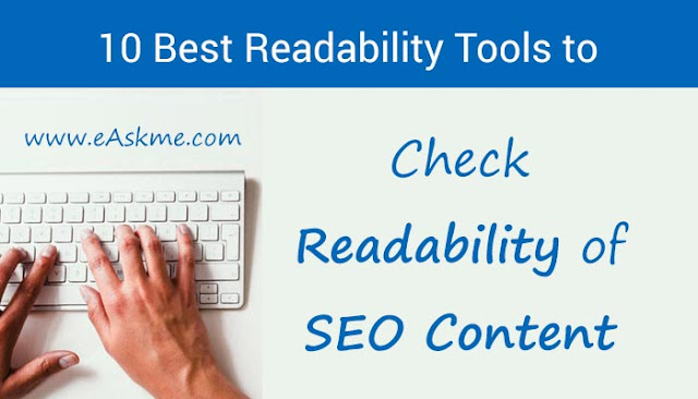 Top 10 Best Readability Tools to Check Your SEO Content: eAskme