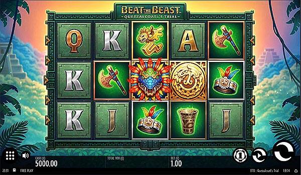 Main Gratis Slot Indonesia - Beat The Beast Quetzalcoatl's Trial (Thunderkick)