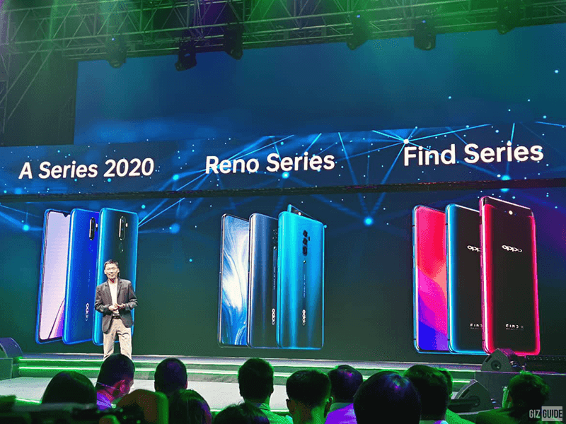OPPO Reno replaces F series!