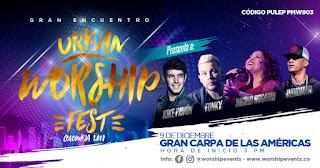 Festival Urban Worship Fest 2018 Bogotá