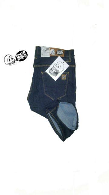 celana jeans pendek pria garmen