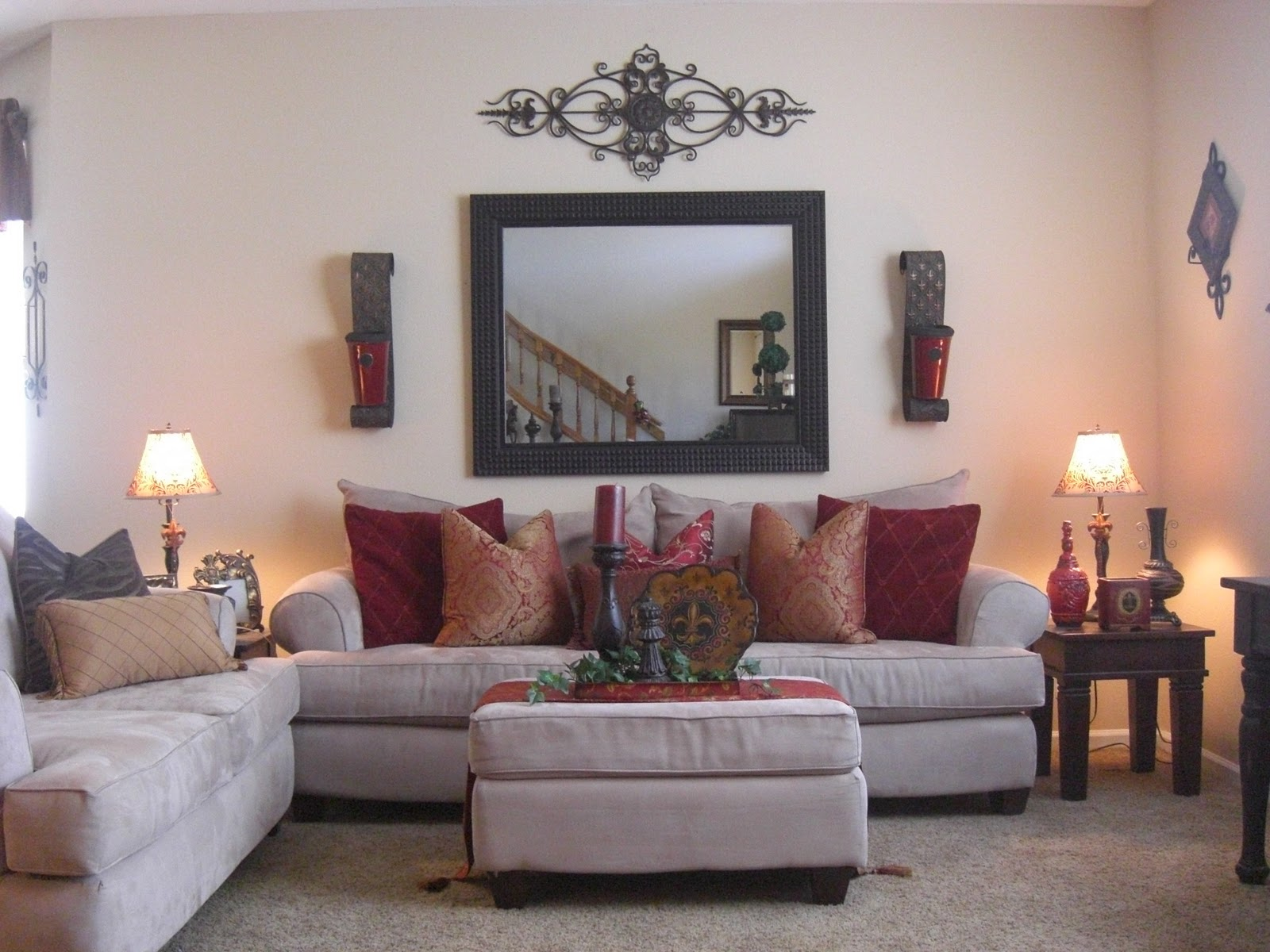 no place like our home    front formal living room