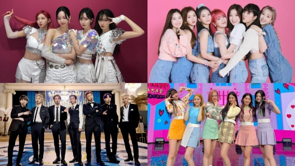 List of K-Pop Songs Liked by Korean Netizens Throughout 2021