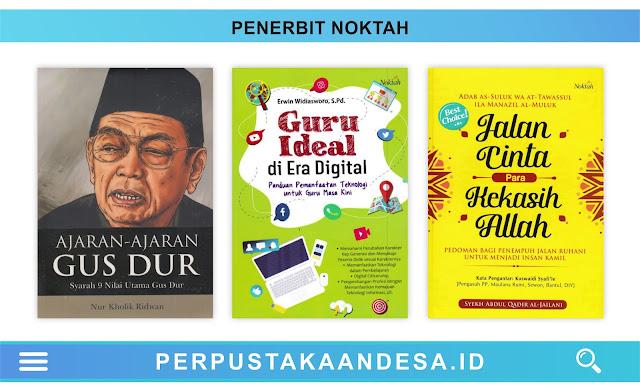 Daftar Judul Buku-Buku Penerbit Noktah