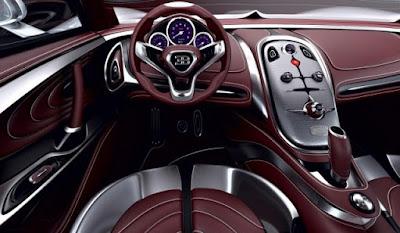 Bugatti Veyron interior image