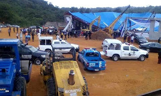 Akwa Ibom church collapses