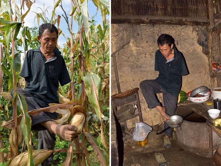 Corn Man photo