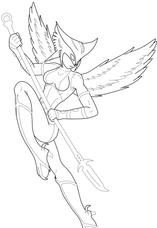coloring pages hawkgirl | Police Officer Car Coloring Pages (9 Image) – Colorings.net