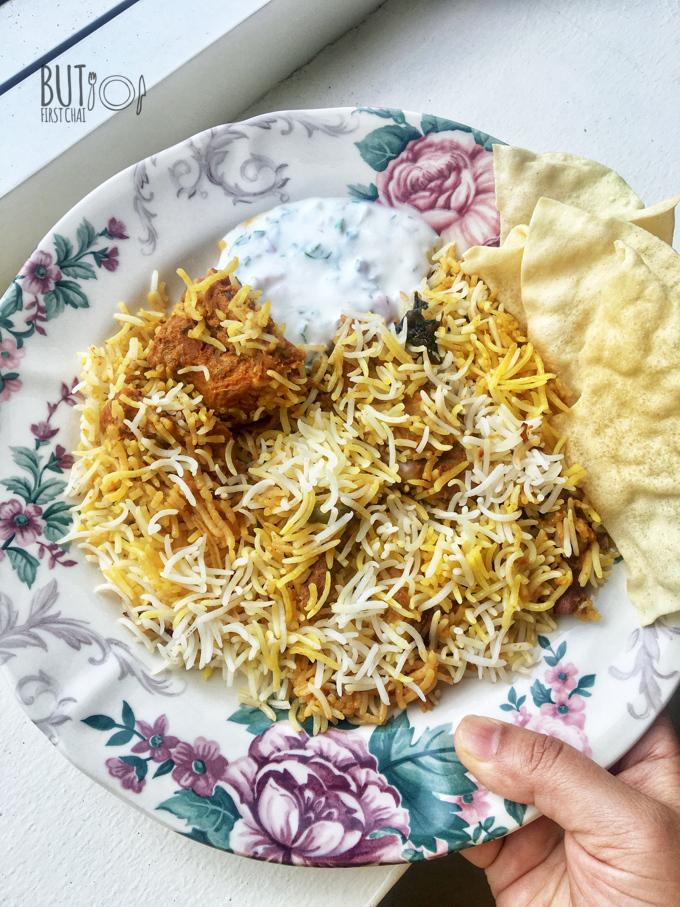 Kacchi Mutton Biryani