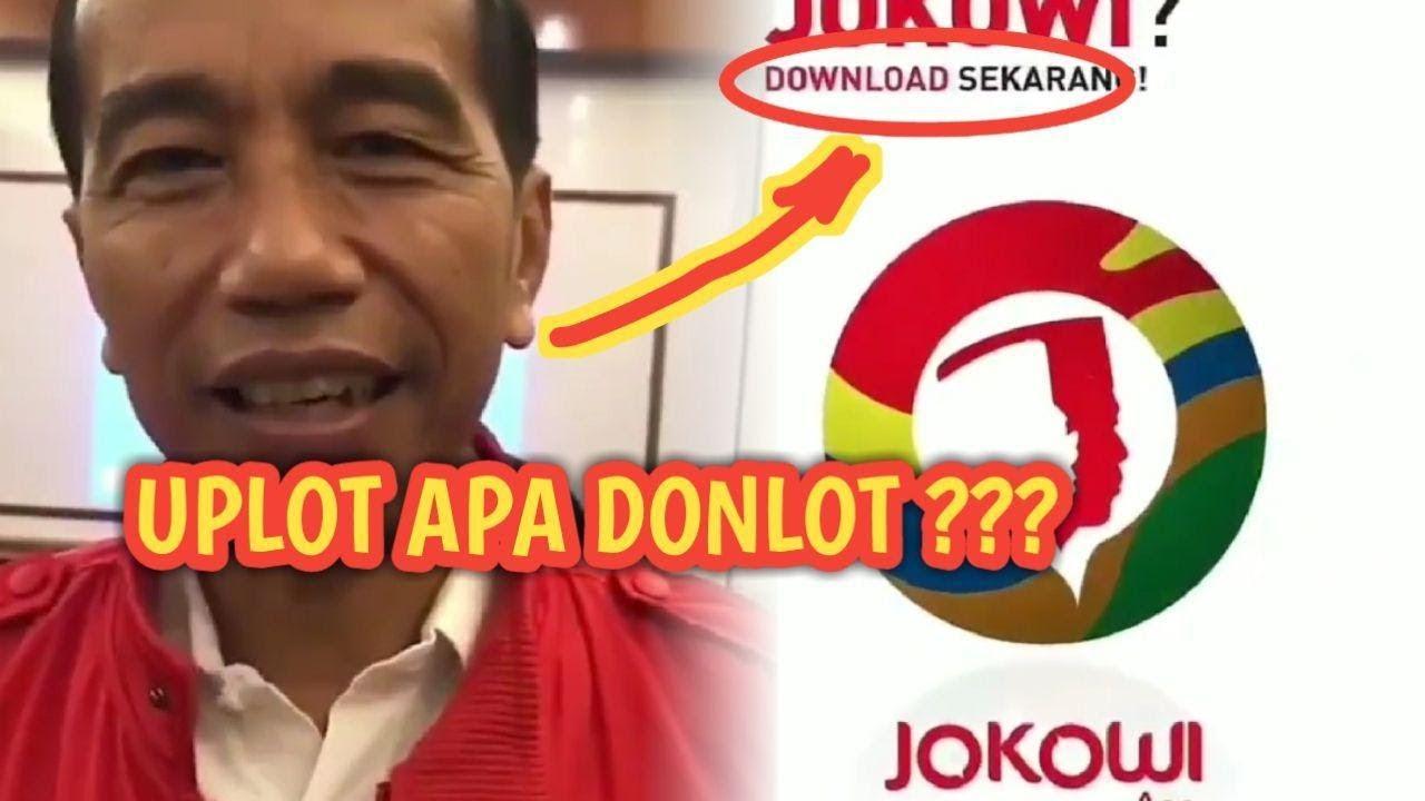 """Beredar Video Jokowi Ngomong """"Jangan Lupa Upload Aplikasi Saya"""", Warganet: Download Kali!"""