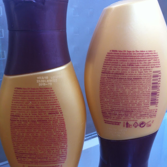 Shampoo e Condicionador Terapia dos Óleos Indianos Nativa SPA - O Boticário