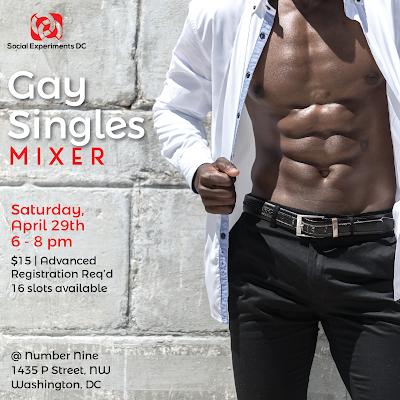 Gay Singles Mixer- DC