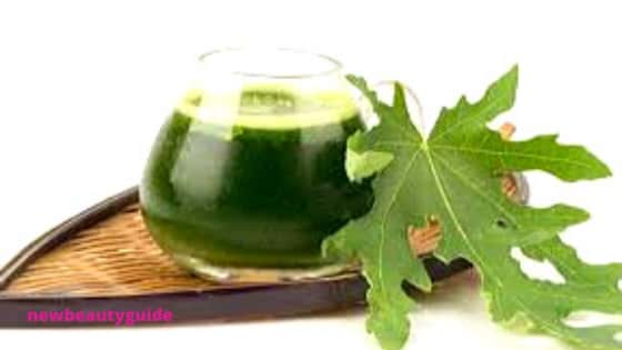 Some of the side effects of Papaya Leaves Juice