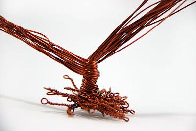 como hacer un arbol de alambre