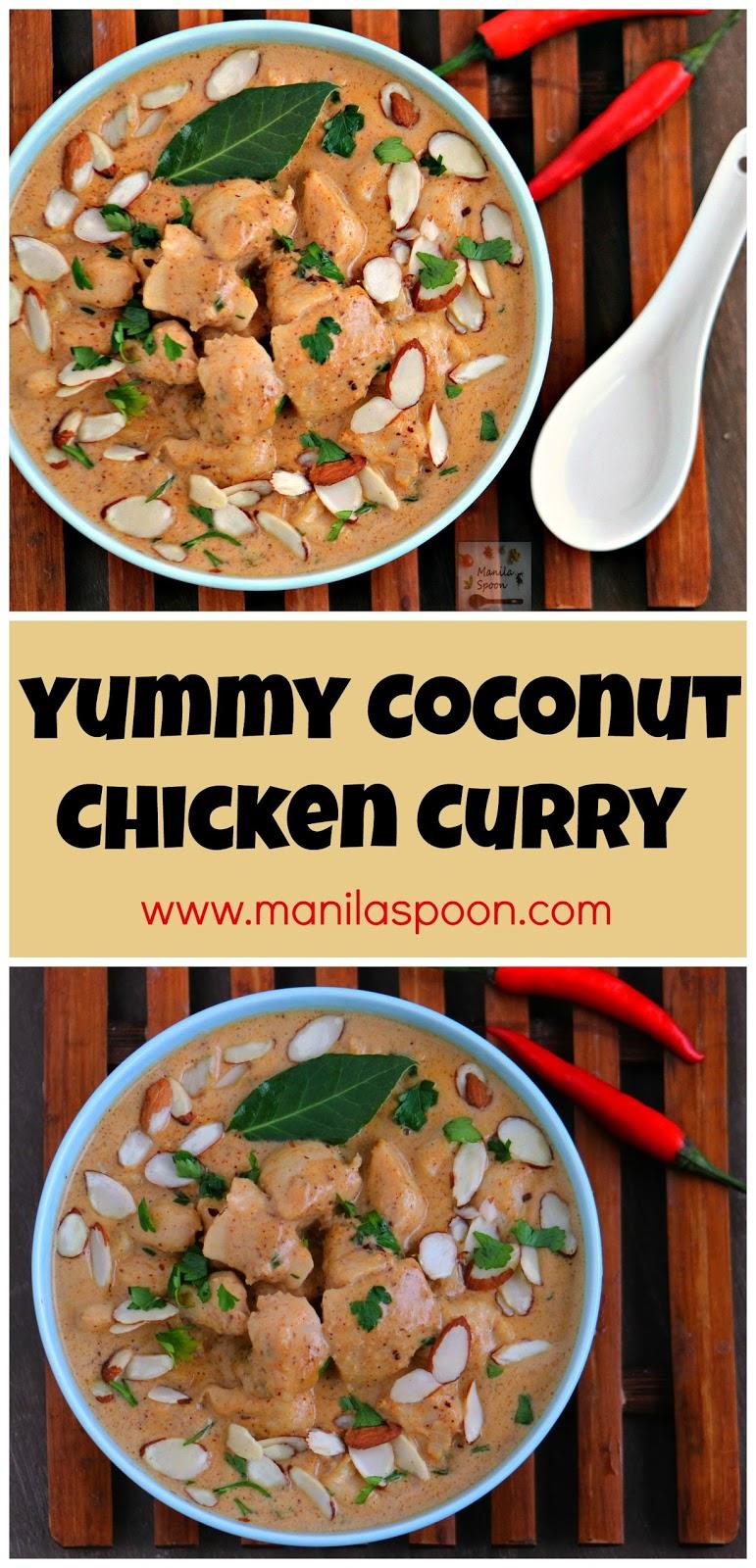 Coconut Chicken Curry Manila Spoon