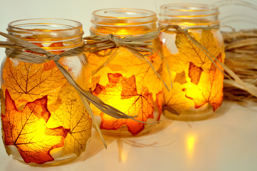 Fall Leaves? DIY Project It Is!