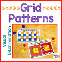 visual-discrimination-grid-patterns